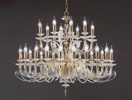 crystal chandelier with swarovski crystals alicante charm l16 8 by euroluce lampadari