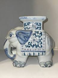 vintage chinese porcelain elephant