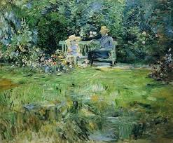 the lesson in the garden