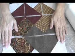 Quilting a card trick quilt block. - YouTube &  Adamdwight.com