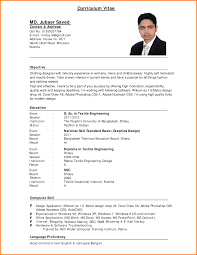 example curriculum vitae nypd resume related for 6 example curriculum vitae