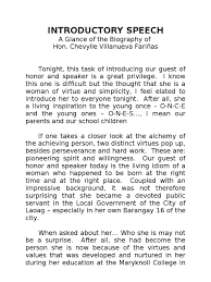 sample speech in introducing a guest speaker chairman marriage