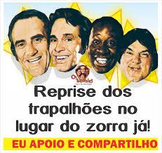 Eterno Renato Aragão is feeling hopeful. - Eterno Renato Aragão