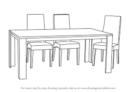 chair design drawing. Chair Design Drawing. Brilliant How To Draw Dining Table With Chairs In Drawing