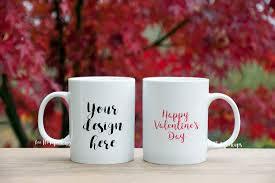 ✓ free for commercial use ✓ high quality images. 2 White Mug Mock Up Valentine S Day Romantic Background Nature Coffee Mug Mockup By Leo Flo Mockups Thehungryjpeg Com