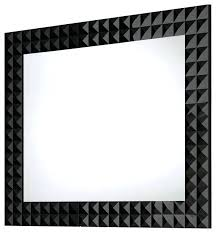 mirror with black frame mirror design ideas diamond shape black bathroom mirror modern intended for wall mirror with black