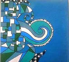 Confusion Painting by Brandy Barnum