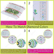 5d Diy Special Shaped Diamond Painting Flowers Cross Stitch Kits H013