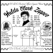 Hulda Clark Frequency Chart Hulda Clark Zapper Schematic 30 Khz And 1000 Hz Circuit