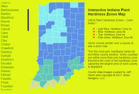 Us Growing Zone Chart Usda Plant Hardiness Zone Map Indiana Arbor Rangers