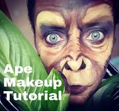 monkey makeup photo 1