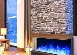 glass electric fireplace best 3 sided ideas on modern curved insert
