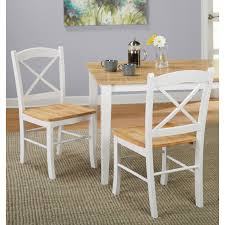 Image Cottage Kitchen Simple Living Country Cottage Dining Chair set Of 2 Overstock Shop Simple Living Country Cottage Dining Table Natural White