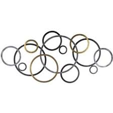 ... Chic And Creative Metal Circle Wall Decor Tuscan Bronze Connecting From  Hobby Lobby Things I
