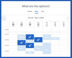 Quick Schedule Maker Free Online Scheduling Tool Quick And Easy Doodle