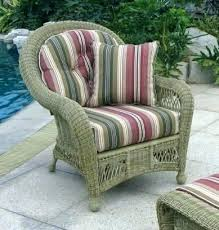 wicker chair cushions target patio furniture outdoor seat outside w