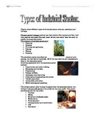 there are three different types of industrial sector primary  page 1 zoom in