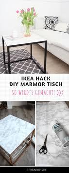 Diy Beistelltisch Mit Marmorplatte Ikea Hack Design Dots Blog Und