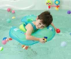 float baby inflatable swimming float ring kids swim ring u shape underarm waist swimming floats for bathtub swimming pool water play 2 6 years old