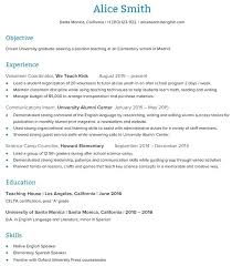 Skills Of A Teacher Resume Assistant Teacher Resume Sample ...