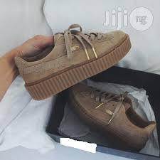puma shoes fenty gold. puma fenty gold colour shoes s