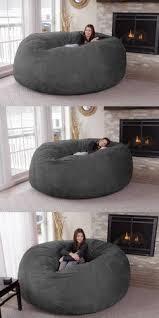 jumbo bean bag chair beanbags sphere chairs furniture dorm