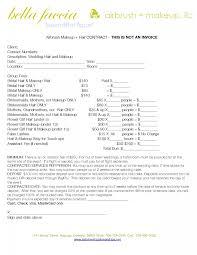 makeup artist invoice template free 3 colorium laboratorium makeup artist invoice