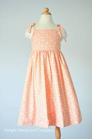 Simple Toddler Dress Pattern New Design Ideas