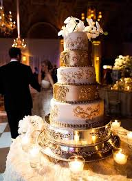 white and gold indian wedding cake indian weddings cake by soma