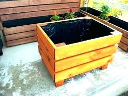 long planter boxes large tree planter box wooden planters for trees modern boxes wood photo