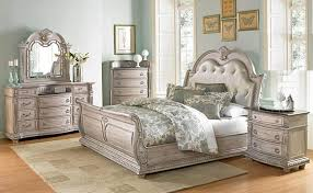 antique white bedroom set. palace ii bedroom set with sleigh bed in antique white i
