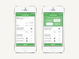 Cell Phone Data Plans Comparison Chart Phone Plan Comparison By Janette Council On Dribbble