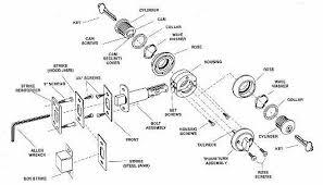Deadbolt Parts Diagram WIRING INFO