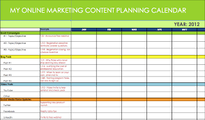 Marketing Planner Excel Marketing Plan Spreadsheet Budget Spreadsheet Excel How To Make A