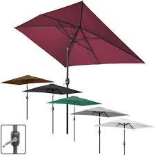 2x3m rectangle garden parasol umbrella
