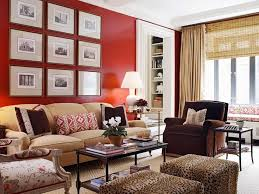 living room with red furniture. love this room red living with neutral sofa by ashley whittaker furniture