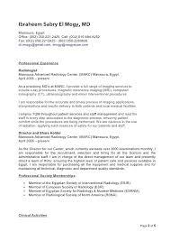 Radiologist Resume Radiologist 2 Radiologic Technologist Resume Example
