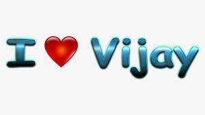 vijay name love hd wallpaper