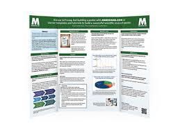 tri fold board size tri fold mounted scientific posters makesigns