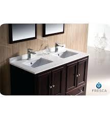 fresca bathroom vanity uk. vanities: 48 fresca oxford fvn20 2424mh traditional double sink bathroom vanity mahogany basin uk