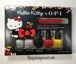 Hello Kitty by OPI 2016 Collection | Swatches + Review + GIVEAWAY ...