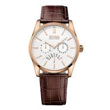 hugo boss rose gold plated men s watch 0010971 beaverbrooks hugo boss rose gold plated men s watch