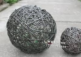Wicker Balls For Decoration Custom 32 Woven Wicker Balls Of Different Sizes Home Decoration Ball