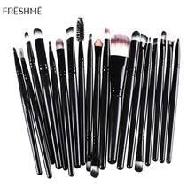<b>Набор</b> профессиональных <b>кистей</b> для макияжа FRESHME 20 шт ...