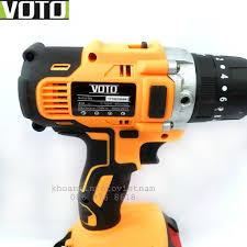 Thân máy khoan bắt vít Voto 13mm Màu cam (ko kèm pin) - Máy khoan Nhà sản  xuất No brand