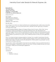 Engineering Internship Cover Letter Samples Cover Letter