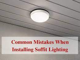 4 common mistakes when installing