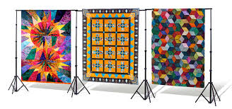 Portable Quilt Display Stand Multiple Quilt Display Options for Guilds Museum Exhibits 86