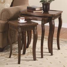 Coffee Table Set Of 3 3 Piece Glass Coffee Table Sets Furniture Of America Stephain