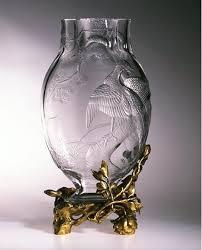 baccarat vase 1890 1900 victoria and albert museum